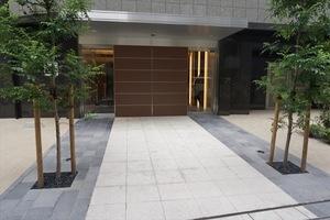 コンシェリア芝公園東京プレミアムのエントランス