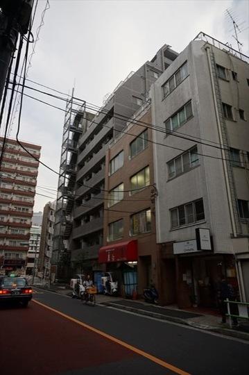 スカイコート三田慶大前の外観