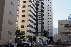 東卸豊海住宅(1〜3号棟)の外観