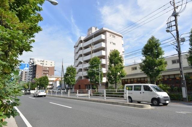ジュウェル宇喜田エメラルドマンションの外観