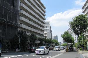 ストーク北新宿の外観