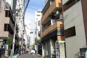 パレドール渋谷の外観