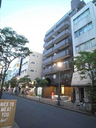 ロイヤルパレス広尾(渋谷区)の外観
