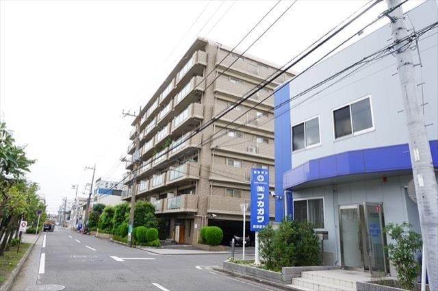 グランリシェス横浜鶴見の外観