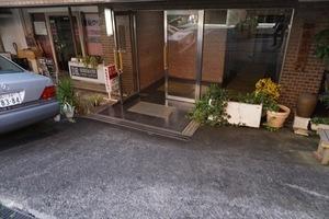 赤坂南部坂ハイツのエントランス