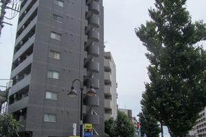 スカイコートヌーベル新宿落合の外観