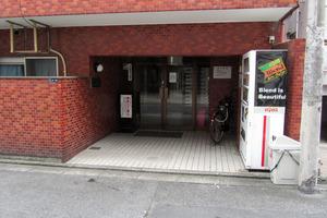 パレドール歌舞伎町第2のエントランス