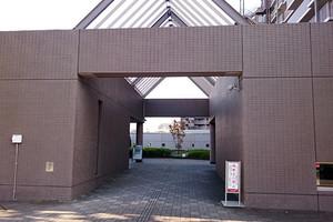 フェアコート多摩川のエントランス