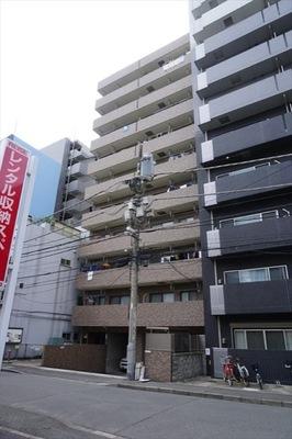 プレジャーガーデン川崎2番館の外観