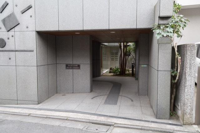 パレロワイヤル世田谷松原のエントランス